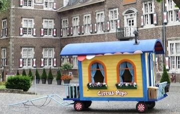 Curcus Pipo van Pipo de Clown - Budget B & B Hippago