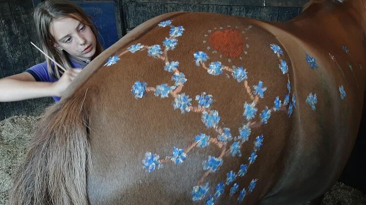 Pony als kunstwerk