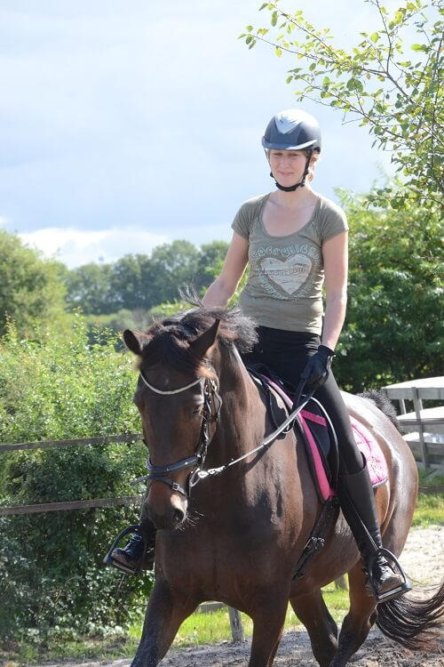 Weekendje paardrijden: lekker trainen in een klein groepje