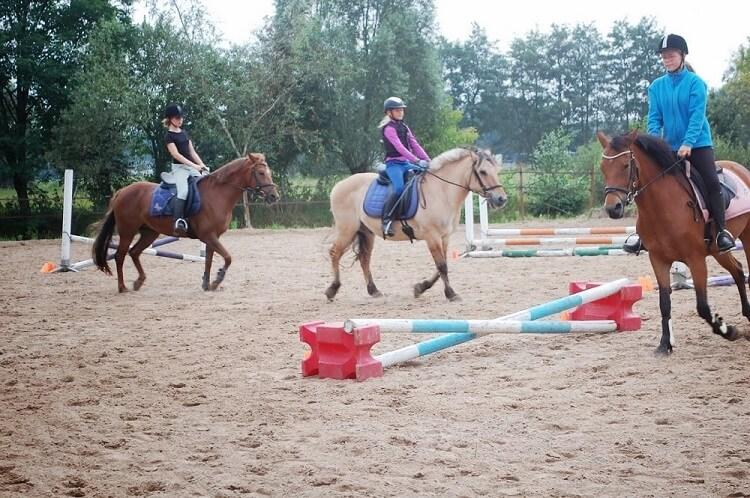 Paardrijdag: 2 x rijden