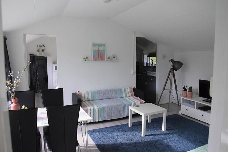 Vakantiehuisje in Drenthe eettafel