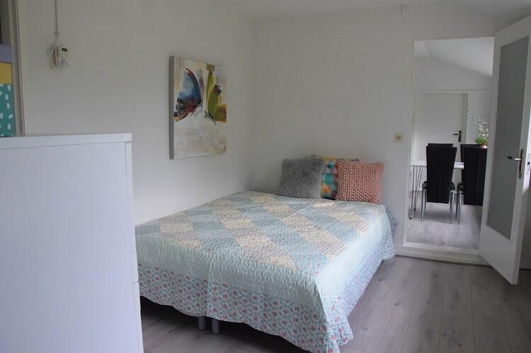 Vakantiehuisje in Drenthe slaapkamer