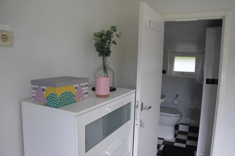 Vakantiehuisje in Drenthe met badkamer