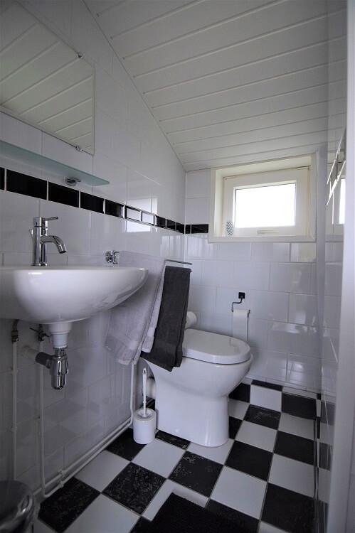 Vakantiehuisje in Drenthe badkamer